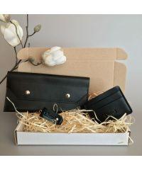 Подарочный набор Klasni Monarda черный N-7-Bl