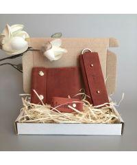 Подарочный набор Klasni Mini коричневый К-08-05-06-1