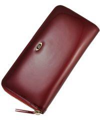 Кожаный кошелек BC38 красный