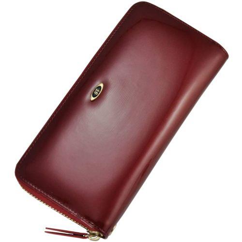 Женский кошелек dr.Bond W38 лак красный