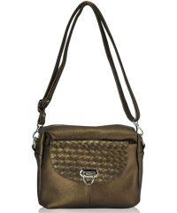 Женская сумка 2032 бронзовая
