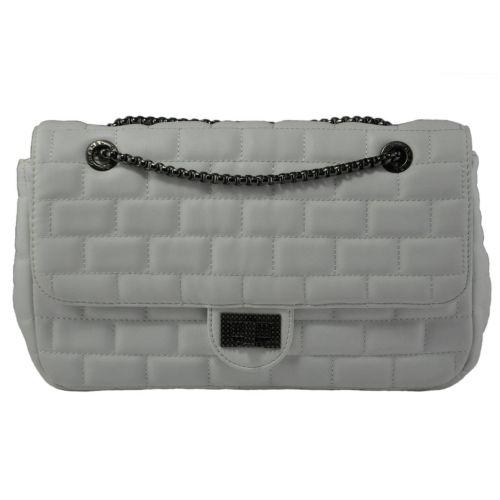 Женская сумка Oversized Flap белая