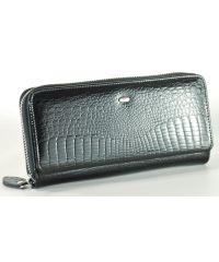 Кожаный кошелек AE202 черный