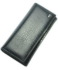 Кожаный кошелек AE501 черный