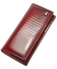 Кожаный кошелек AE501 красный