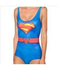 Сдельный купальник SK9010 супермен