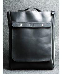 Кожаный рюкзак Хам черный кайзер