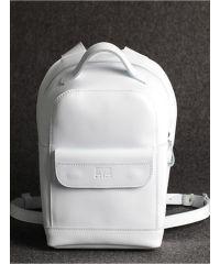 Кожаный рюкзак Куки белый кайзер