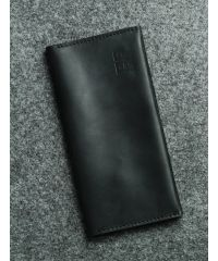 Кожаный Тревел-мини черный кайзер