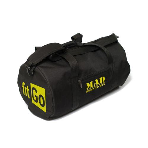 Спортивная сумка FitGo черная