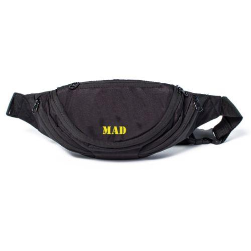 Поясная сумка Shark черная