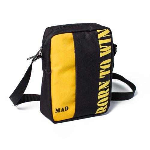 Сумка мэссенджер Nomo черный с желтым