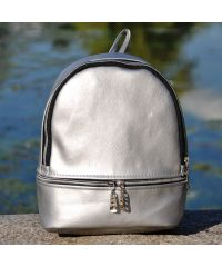 Рюкзак Miss серебристый