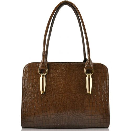 Женская сумка 35250 коричневая