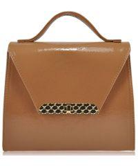Женская сумка 35261 бежевая