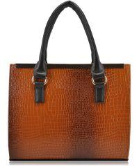 Женская сумка 35247 рыжая