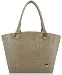 Женская сумка 35224 крокодил бежевая