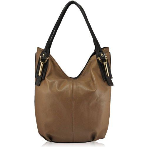 Женская сумка 35266 бежевая