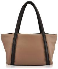 Женская сумка 35284 бежевая