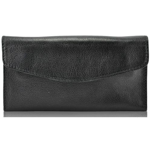 Мужской кожаный клатч 4209 черный