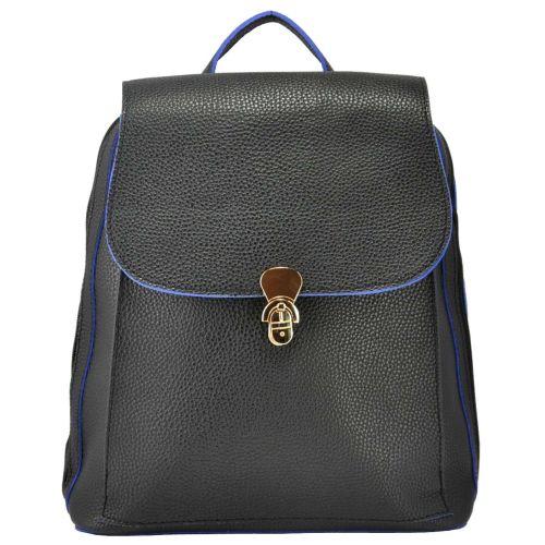 Женский рюкзак 35206 черный и синим