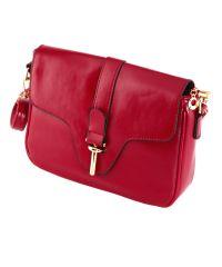 Женская сумка 7211-09 красная