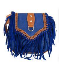 Женская сумка 7215-12 синяя