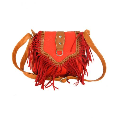 Женская сумка 7215-13 красная