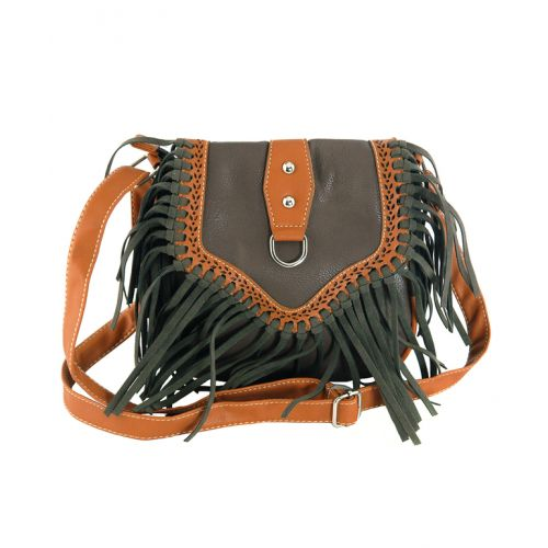 Женская сумка 7215-14 коричневая