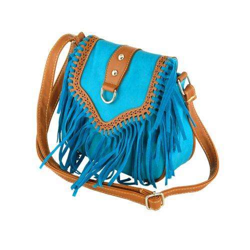 Женская сумка 7215-15 бирюзовая