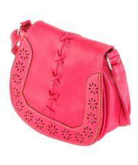 Женская сумка 7215-23 малиновая