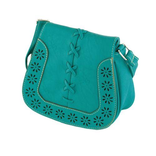 Женская сумка 7215-24 бирюзовая