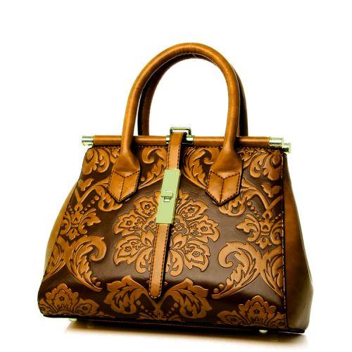 Женская сумка 7230-12 коричневая