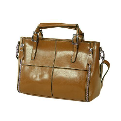 Женская сумка 7316-02 рыжая