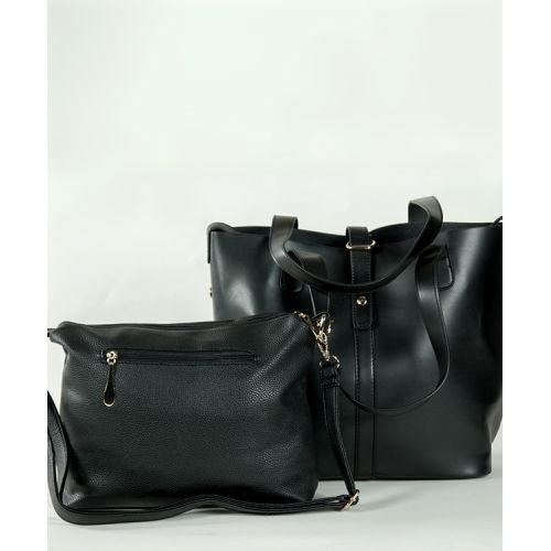 Женская кожаная сумка 7310-04 черная