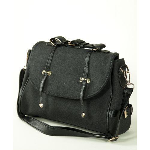 Женская сумка 7244-02 черная