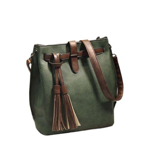 Женская сумка 7236-11 зеленая