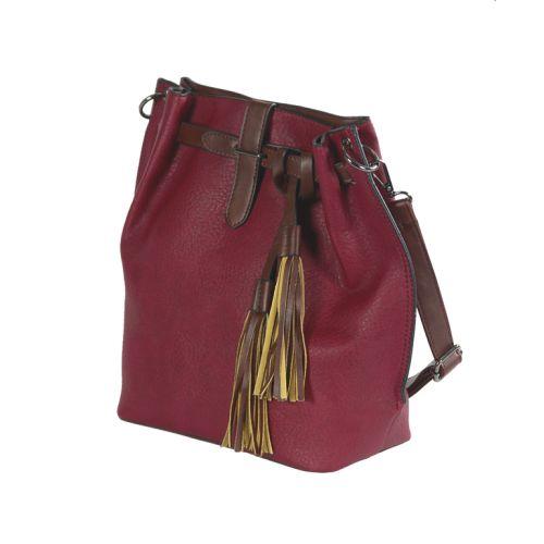 Женская сумка 7236-12 красная