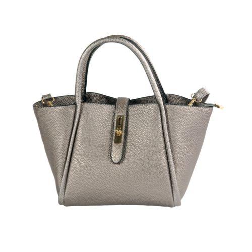 Женская сумка 7228-16 серебристая