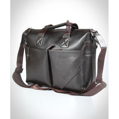 Мужской кожаный портфель 7170-02 коричневый
