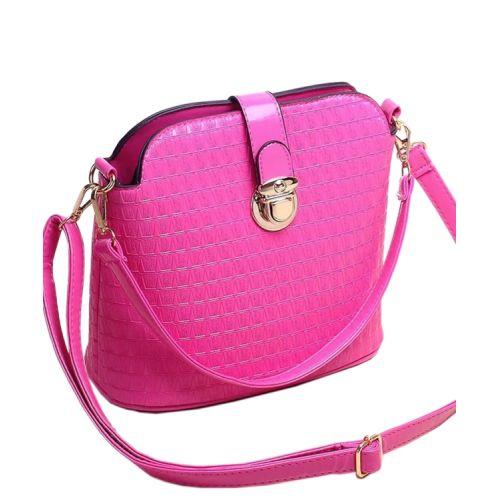 Женская сумка 7211-33 малиновая