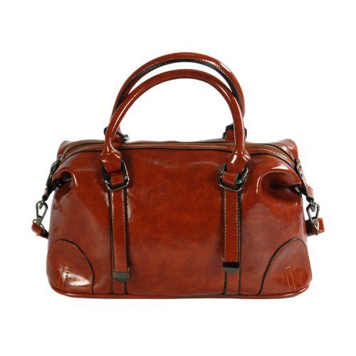 Женская сумка 7226-12 рыжая