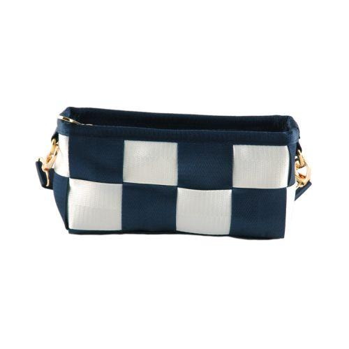 Женская сумка 7212-31 синяя с белым