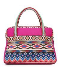 Женская сумка 7214-07 малиновая