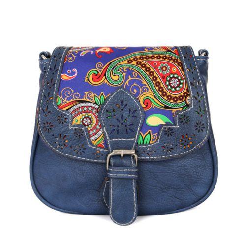 Женская сумка 7215-02 синяя