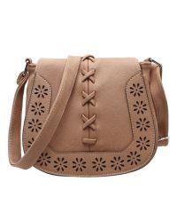 Женская сумка 7215-21 бежевая