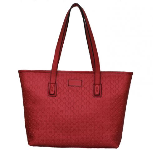 Женская кожаная сумка Mona 3 красная