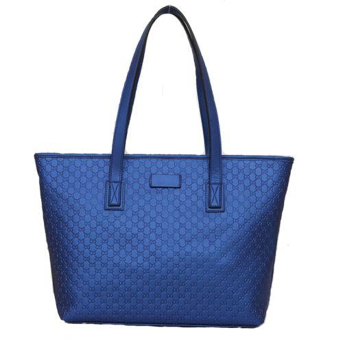 Женская кожаная сумка Mona 4синяя