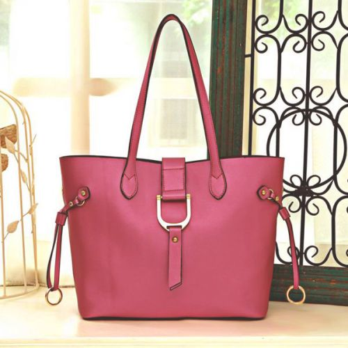 Женская кожаная сумка Darka розовая