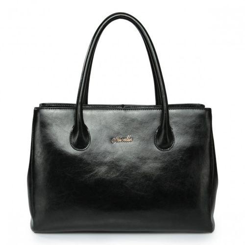 Женская кожаная сумка Higher 1 черная